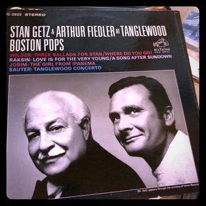 Stan Getz and Arthur Fiedler LP
